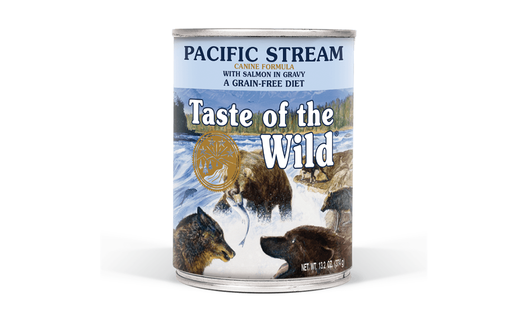 Pacific Stream Canine Formula with Salmon in Gravy package photo