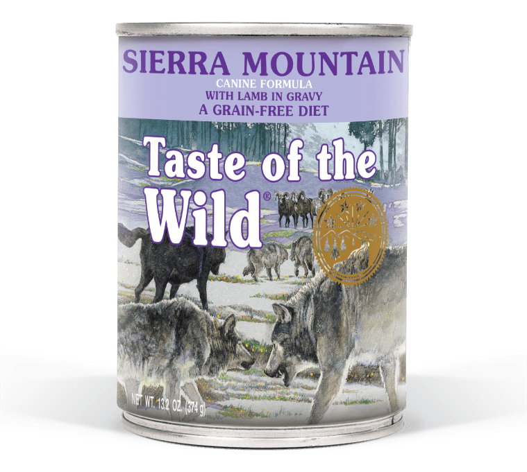 Sierra Mountain Canine Formula with Lamb in Gravy