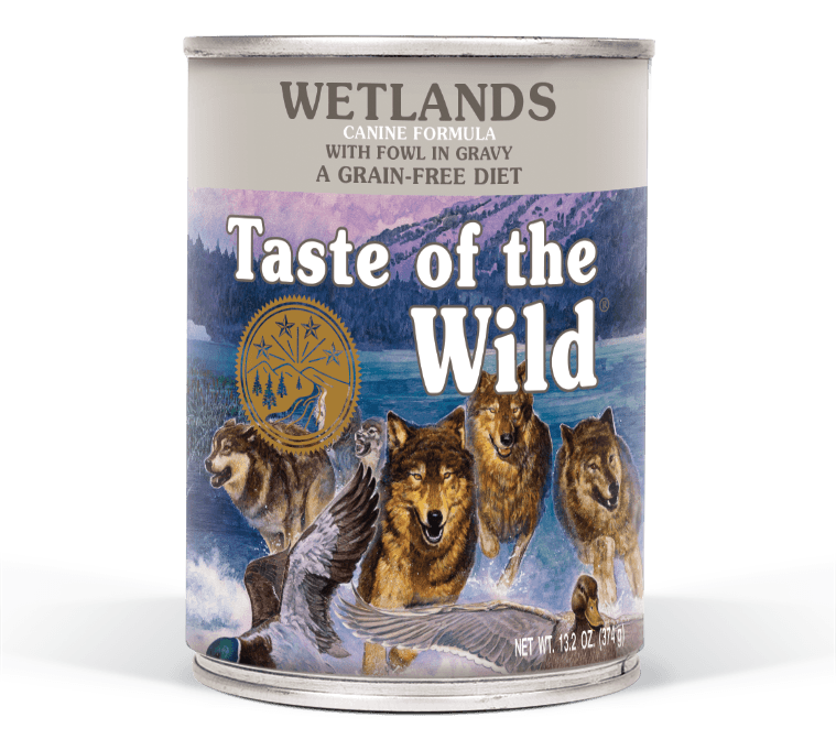 Wetlands Canine Formula with Fowl in Gravy