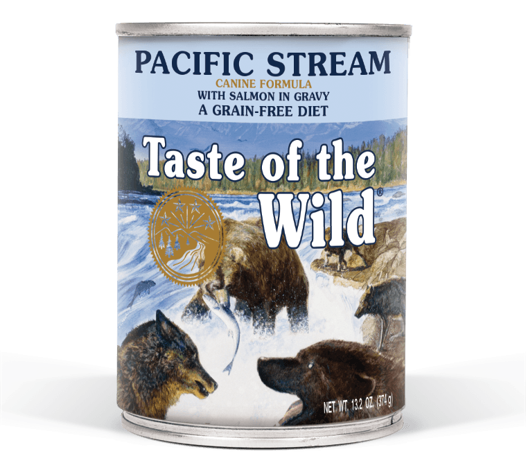 Pacific Stream Canine Formula with Salmon in Gravy