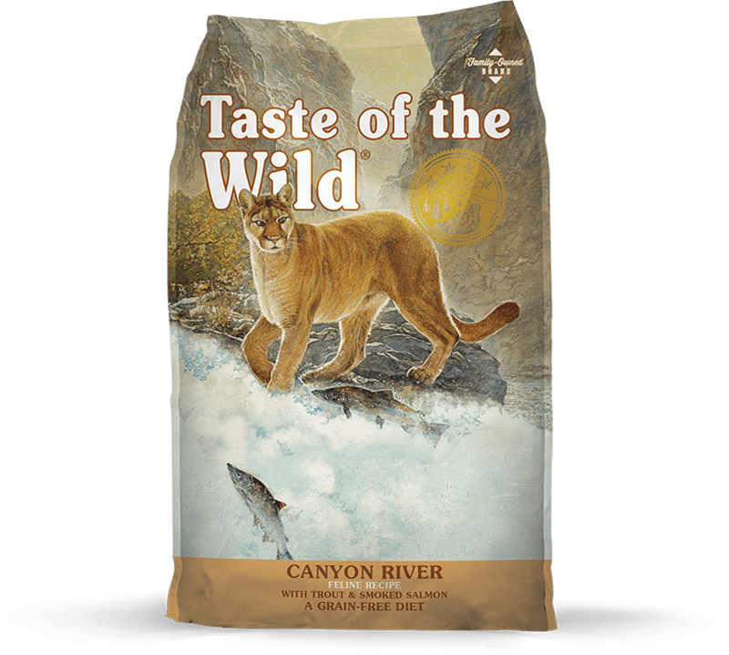 Canyon River Feline Recipe with Trout & Smoked Salmon package photo
