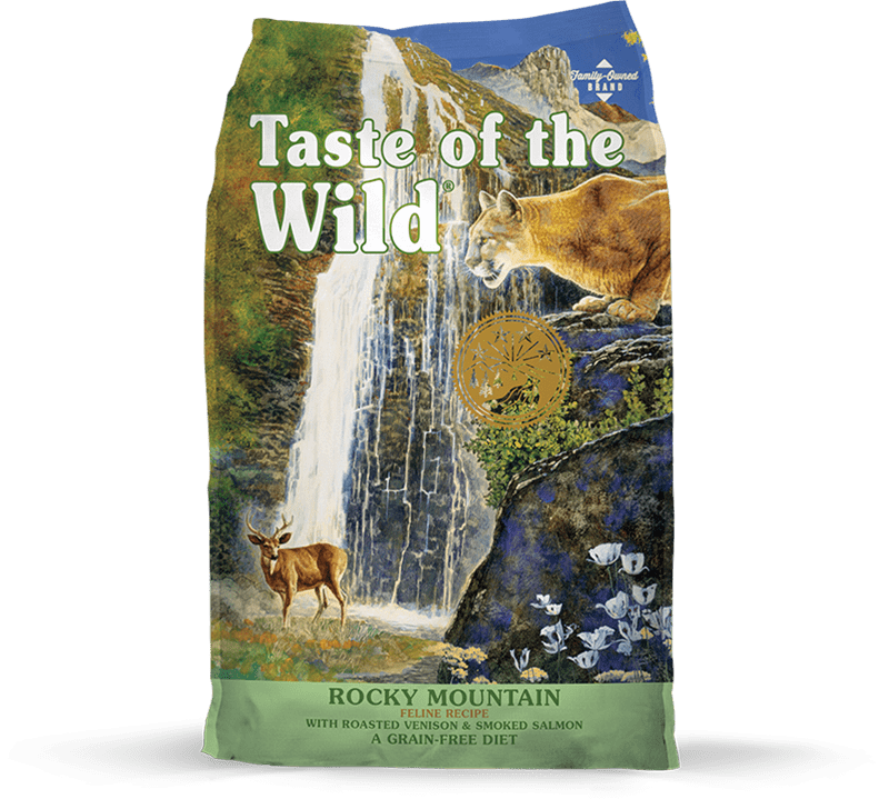 Rocky Mountain Feline Recipe with Roasted Venison & Smoked Salmon package