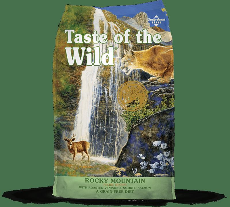 Rocky Mountain Feline Recipe with Roasted Venison & Smoked Salmon