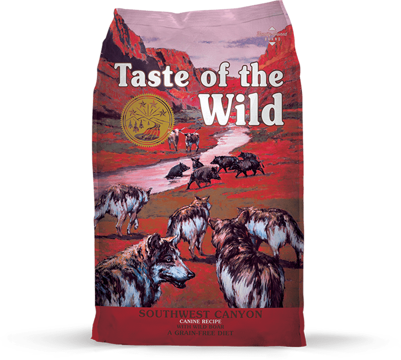 Southwest Canyon Canine Recipe with Wild Boar package