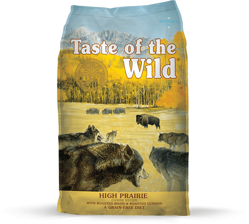 High Prairie Canine Recipe with Roasted Bison & Roasted Venison package