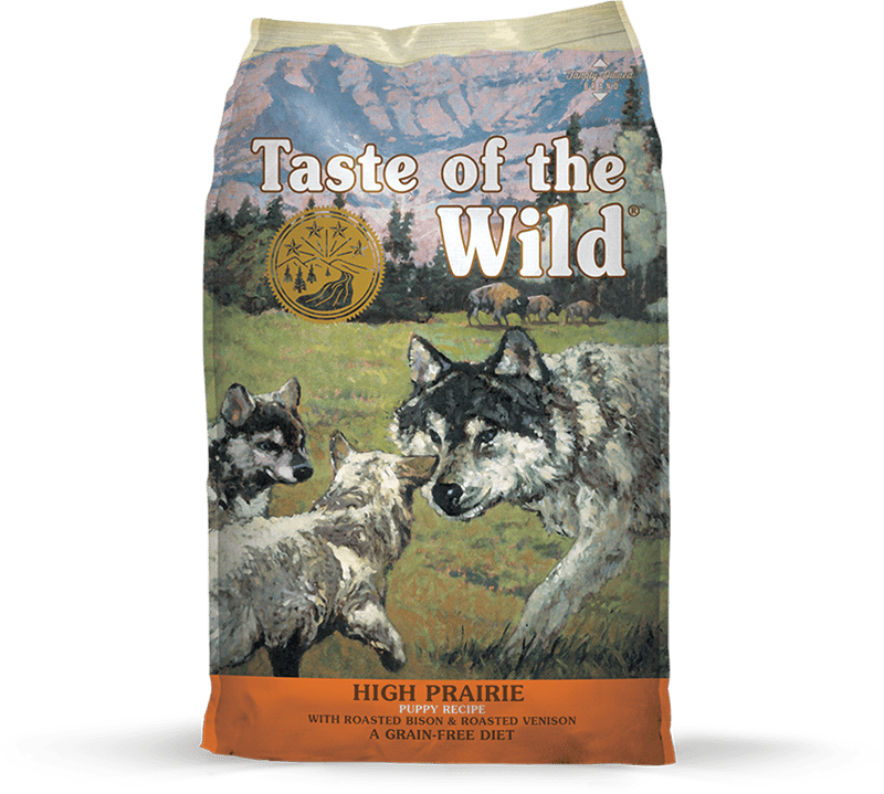 High Prairie Puppy Recipe with Roasted Bison & Roasted Venison package