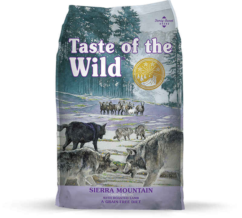 Sierra Mountain Canine Recipe with Roasted Lamb package