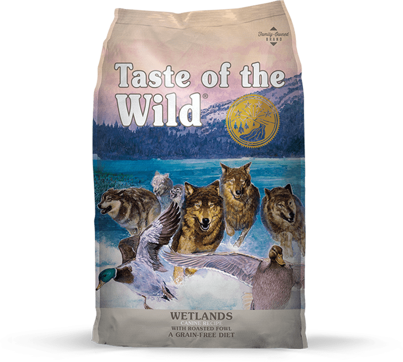 Wetlands Canine Recipe with Roasted Fowl package