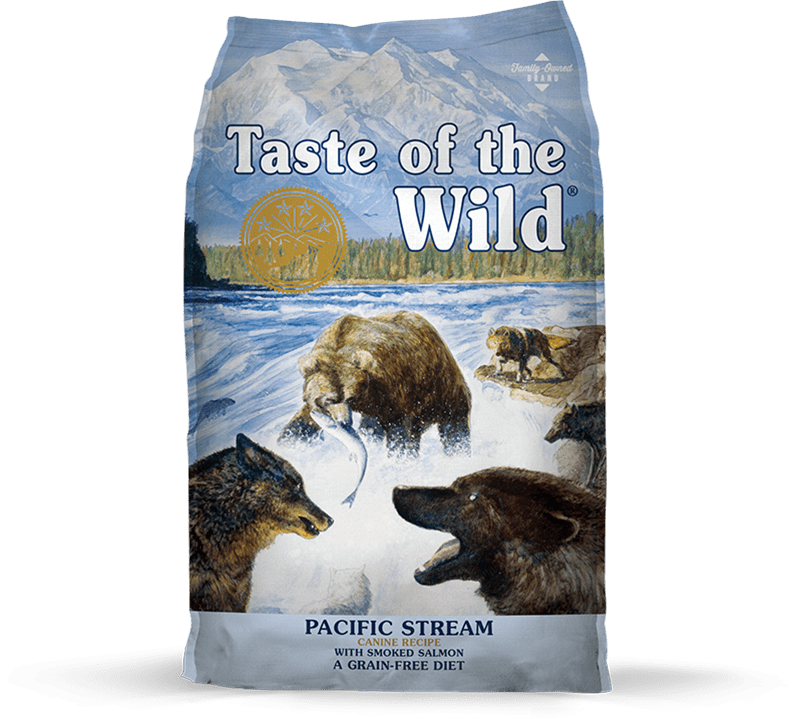 Pacific Stream Canine Recipe with Smoked Salmon package photo