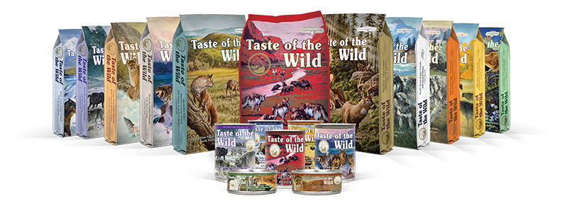 Taste of the Wild Family of Products