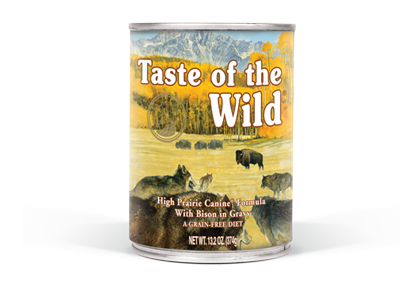 High Prairie Canine Formula with Bison in Gravy package photo