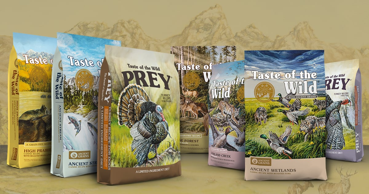 Taste of the Wild Family of Products | Taste of the Wild