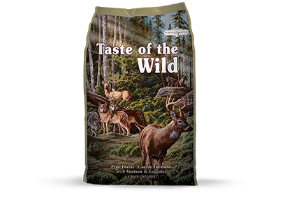Pine Forest Canine Formula with Venison & Legumes