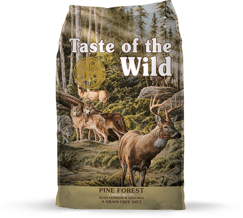 Pine Forest Canine Recipe with Venison & Legumes package photo