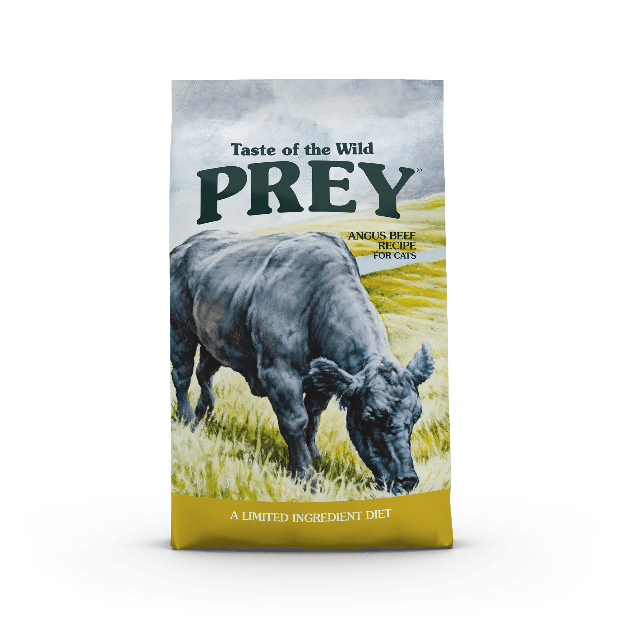 PREY Angus Beef Limited Ingredient Formula for Cats bag front