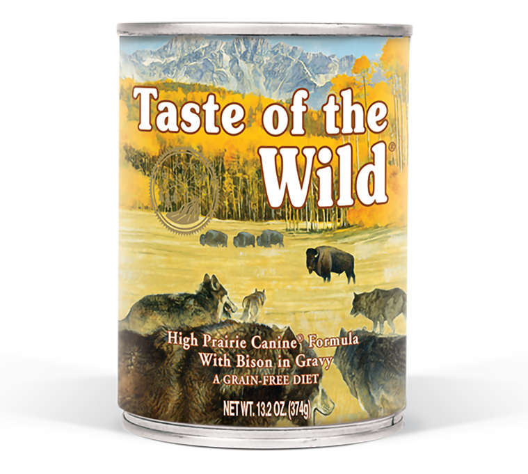 High Prairie Canine Formula with Bison in Gravy