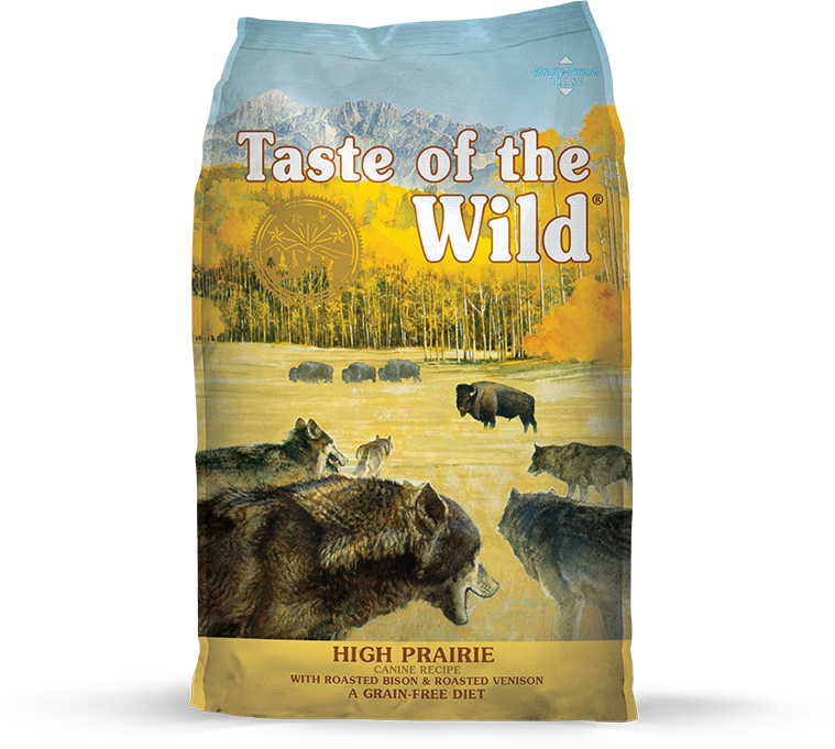 High Prairie Canine Recipe with Roasted Bison & Roasted Venison package photo