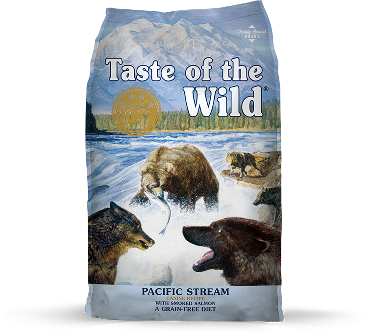 Pacific Stream Canine Recipe with Smoked Salmon