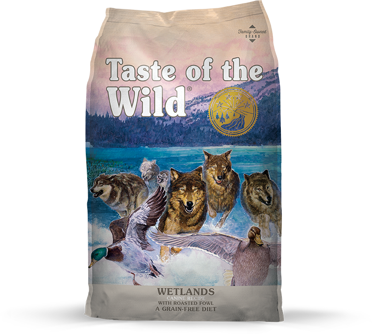 Wetlands Canine Recipe with Roasted Fowl package photo