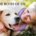 Senior Woman with Senior Dog Lying on Grass Field | Taste of the Wild Pet Food