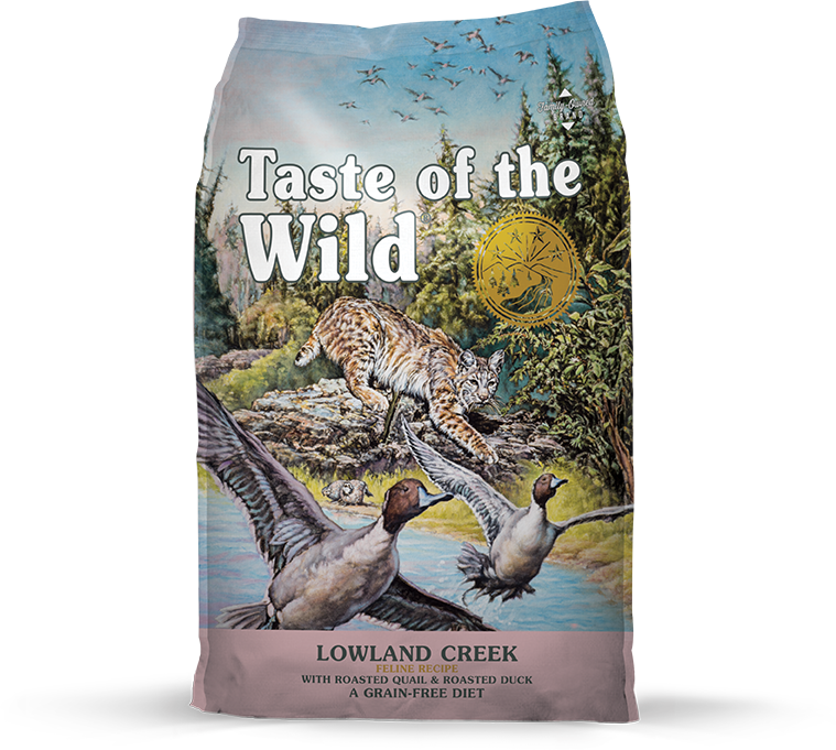 Lowland Creek Feline Recipe with Roasted Quail & Roasted Duck package photo
