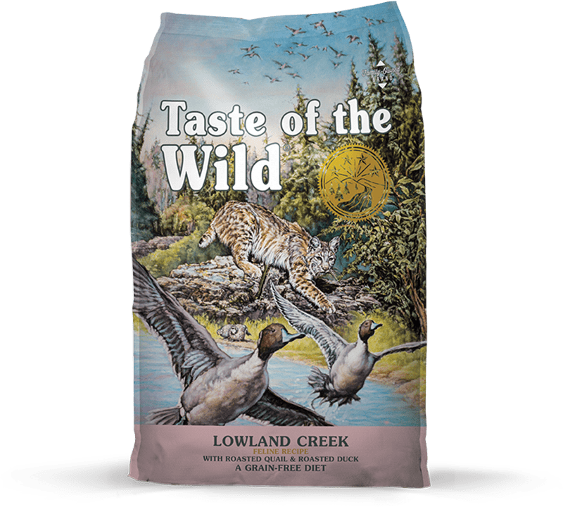Lowland Creek Feline Recipe with Roasted Quail & Roasted Duck package