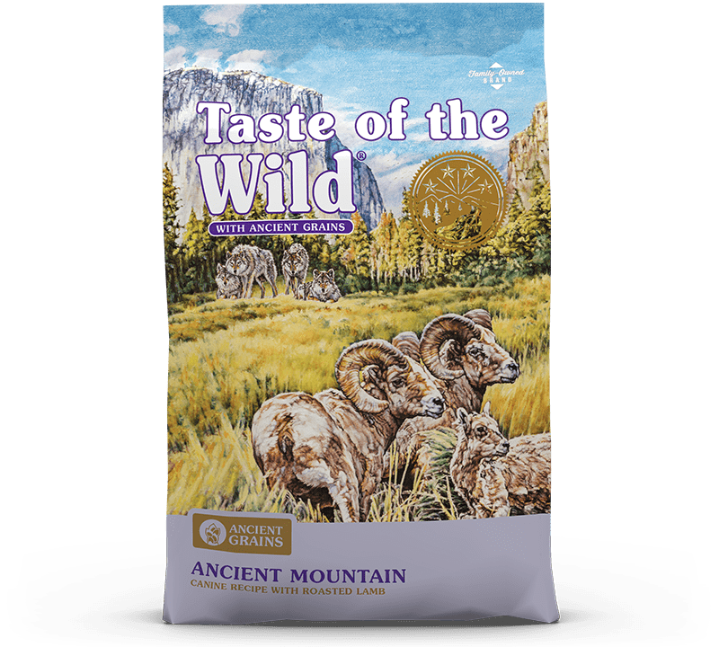 Ancient Mountain Canine Recipe with Roasted Lamb Bag