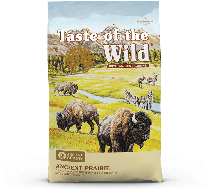 Ancient Prairie Canine Recipe with Roasted Bison & Roasted Venison Bag
