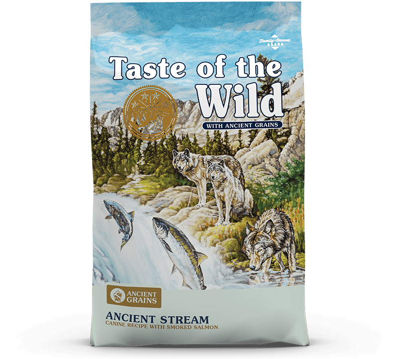 Ancient Stream Canine Recipe with Smoked Salmon Bag