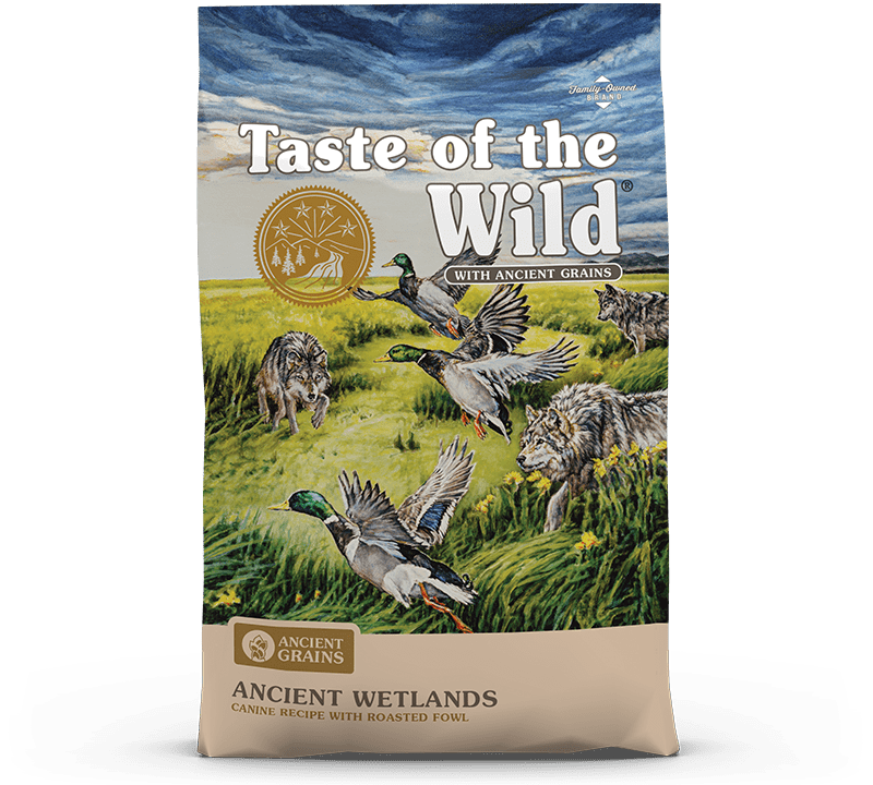 Ancient Grains Wetlands Canine Recipe with Roasted Fowl Bag