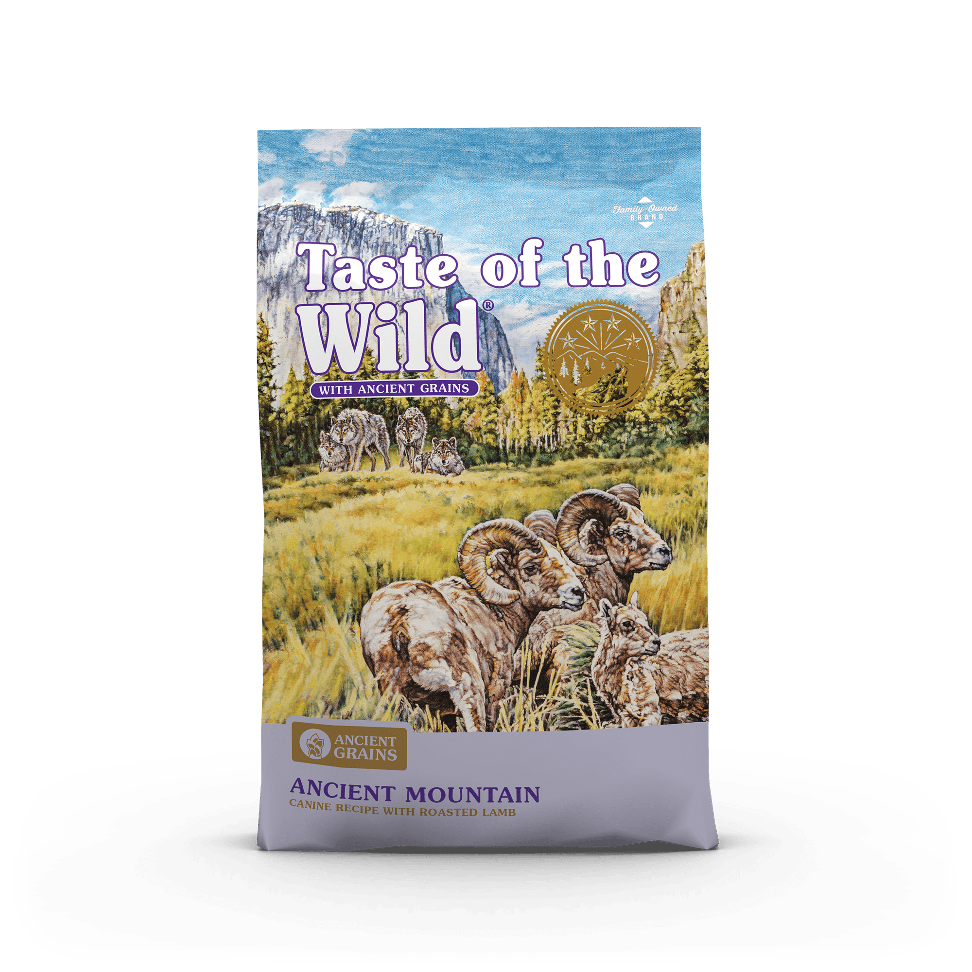 Taste of the Wild Ancient Grains  Ancient Mountain Canine Recipe