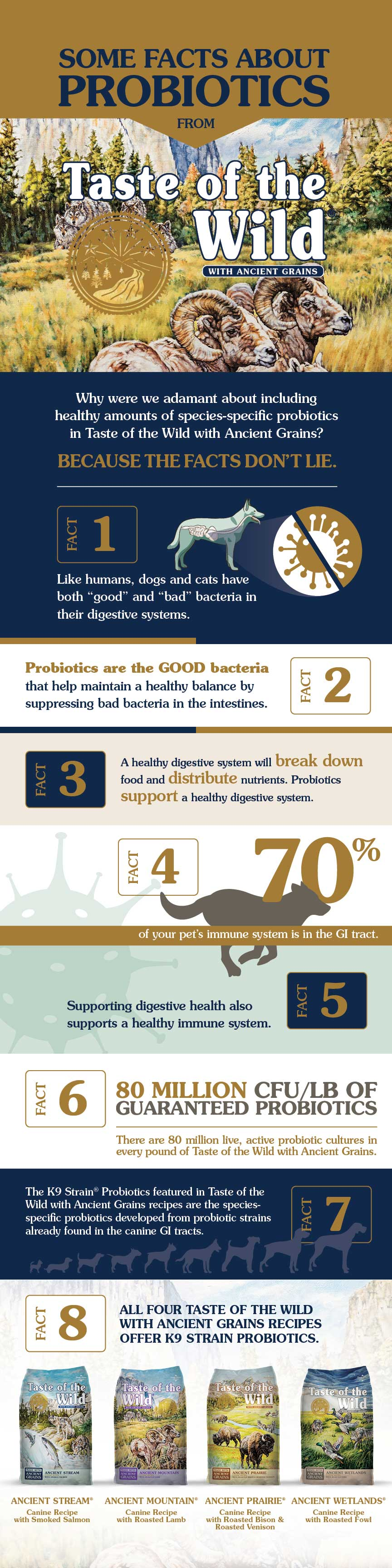 Some Facts About Probiotics graphic