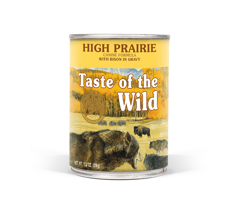 High Prairie Canine Formula with Bison in Gravy Image