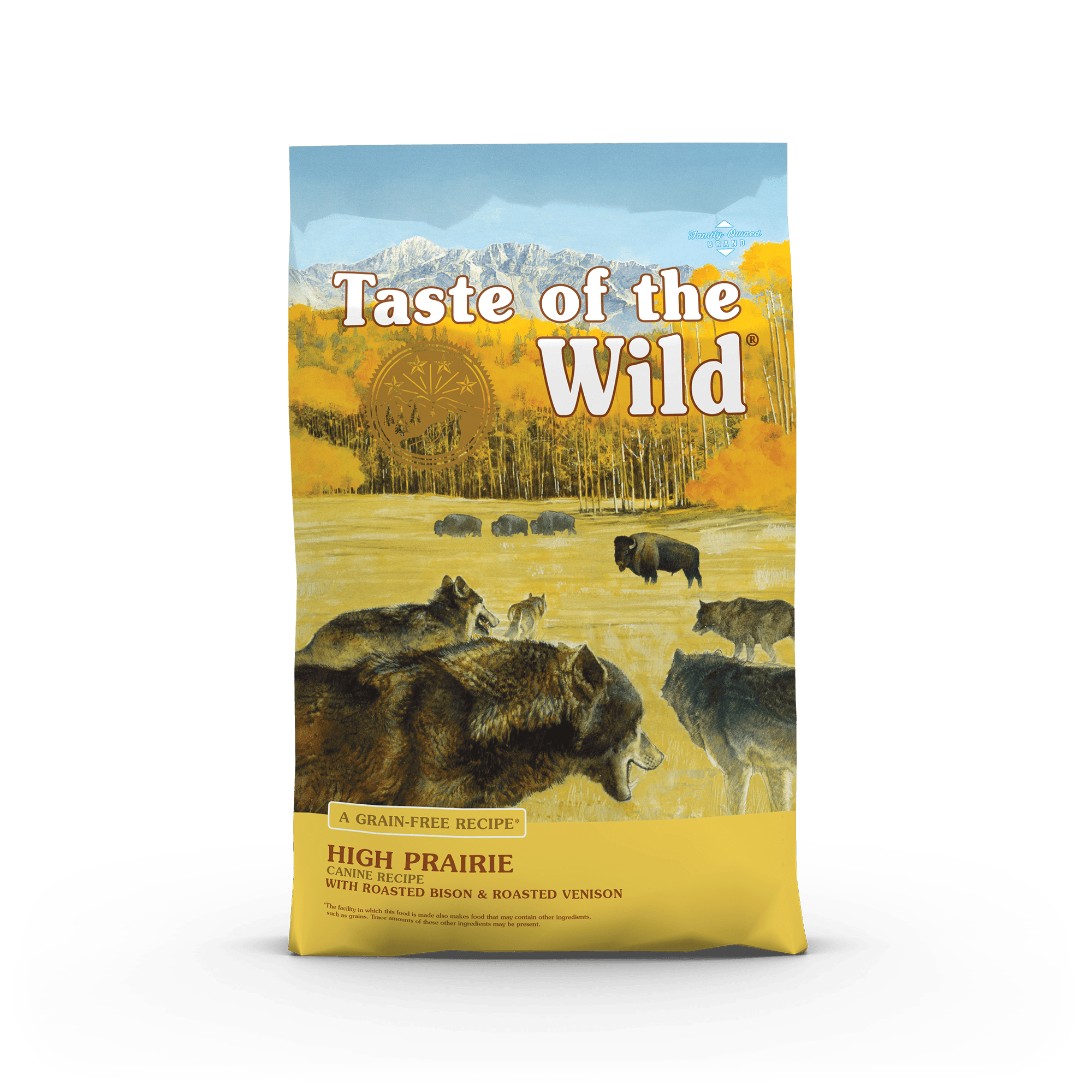 High Prairie Canine Recipe With Roasted Bison Roasted Venison Taste Of The Wild