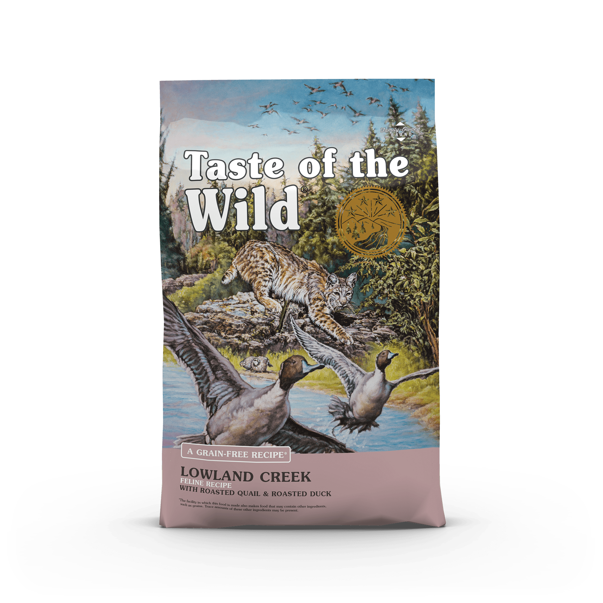 Lowland Creek Feline Recipe With Roasted Quail Roasted Duck Taste Of The Wild