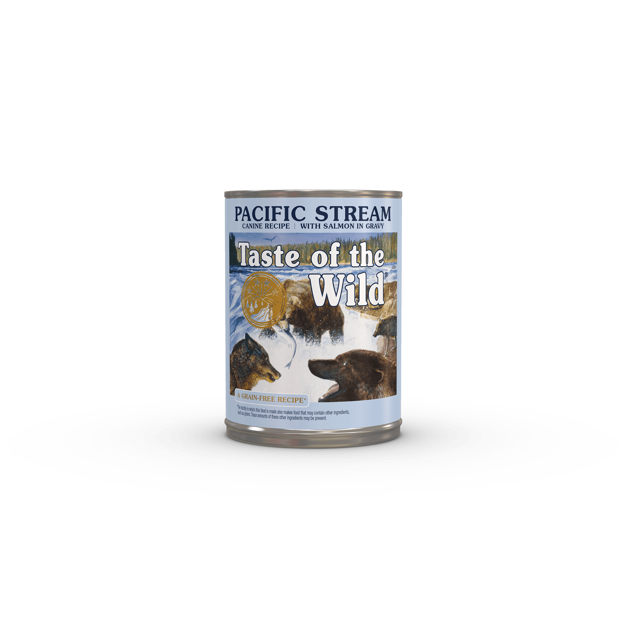 Pacific Stream Canine Formula with Salmon in Gravy Image