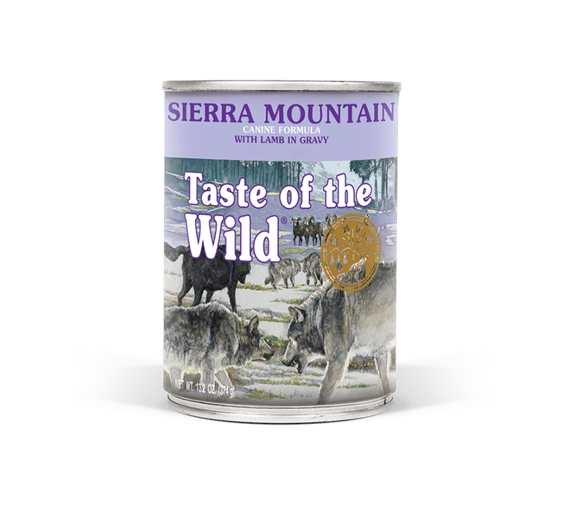 Sierra Mountain Canine Formula with Lamb in Gravy Image