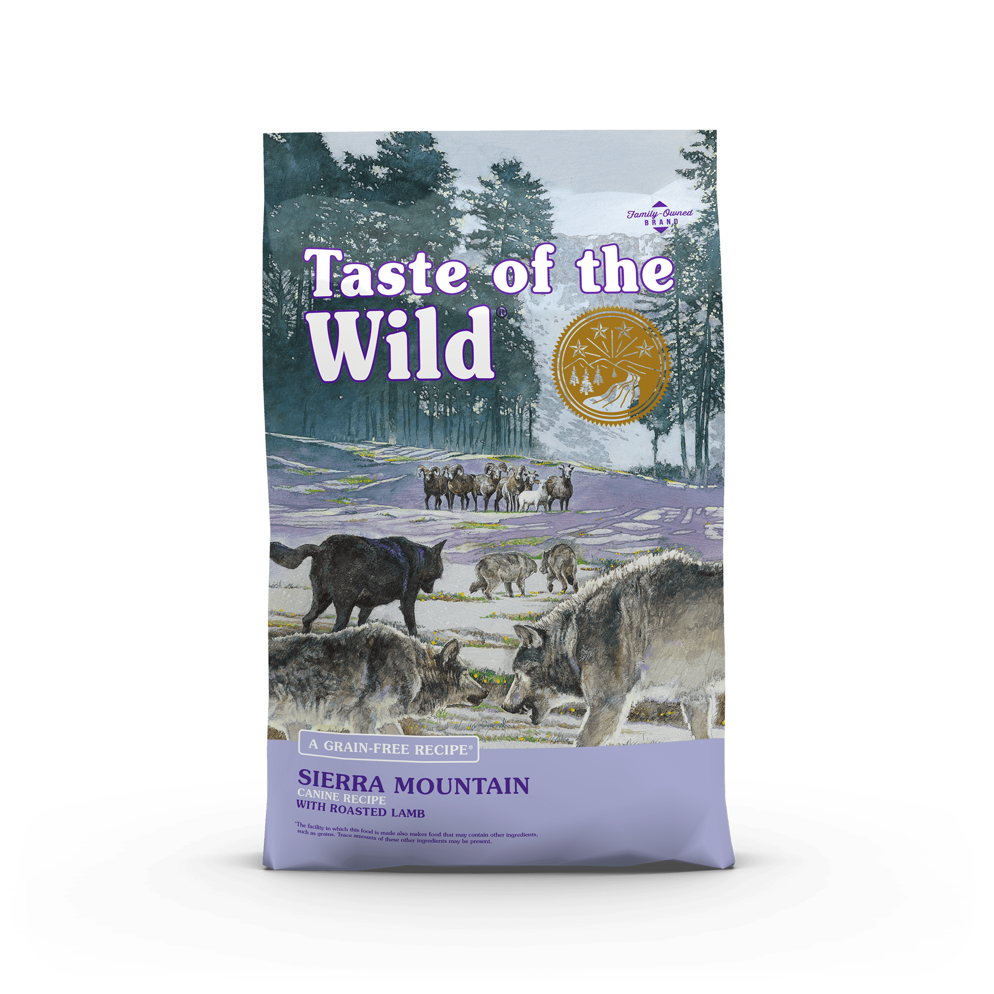 Sierra Mountain Canine Recipe With Roasted Lamb Taste Of The Wild