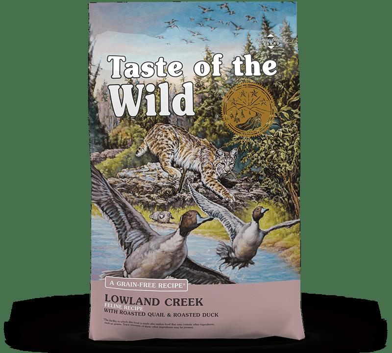 Lowland Creek Feline Recipe with Roasted Quail & Roasted Duck