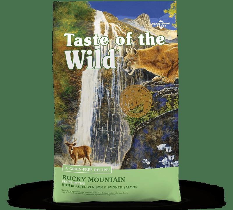 Rocky Mountain Feline Recipe with Roasted Venison & Smoked Salmon package photo