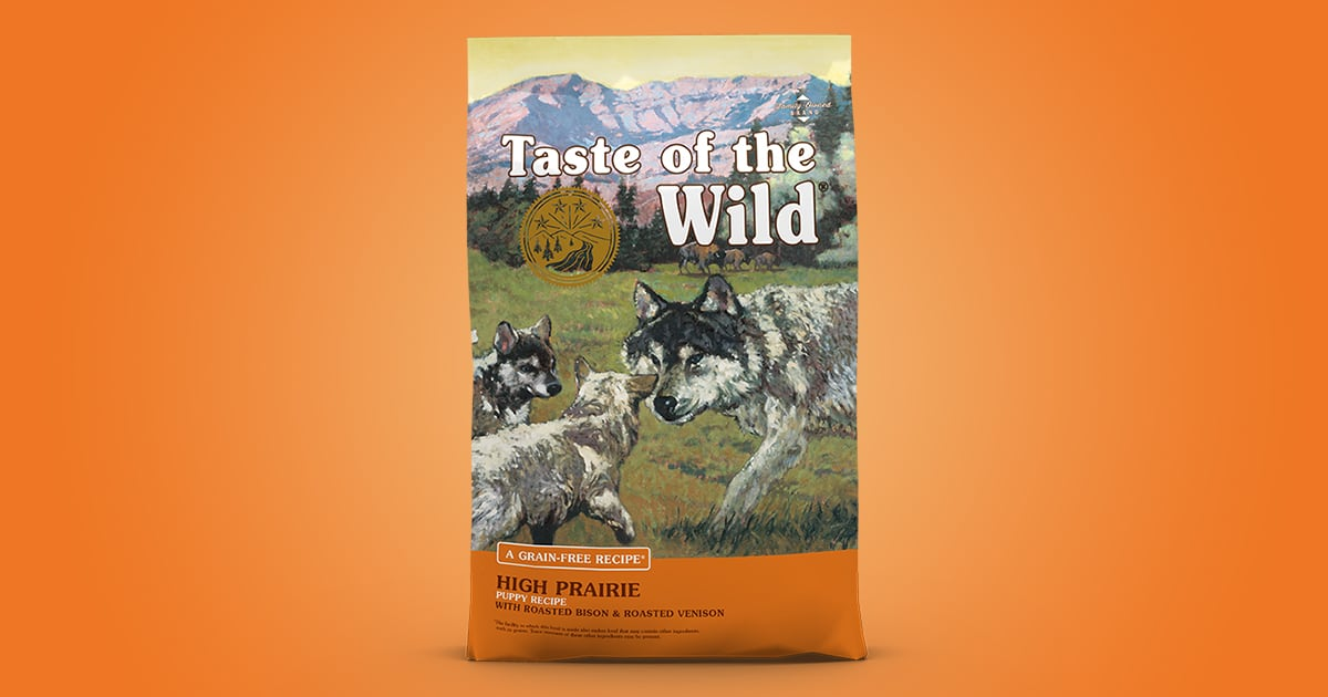 High Prairie Puppy Recipe With Roasted Bison Roasted Venison Taste Of The Wild